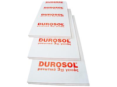 Durosol Δωμάτων FP για θερμομόνωση δωμάτων και γενικότερα μονώσεις ταρατσών
