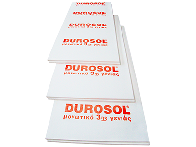 Durosol Τοιχοποιίας το κορυφαίο μονωτικό 3ης γενιάς για θερμομόνωση τοίχων