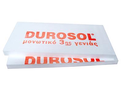 Durosol Μονωτικό Υλικό 3ης γενιάς για εξωτερική θερμομόνωση και θερμομόνωση ταράτσας